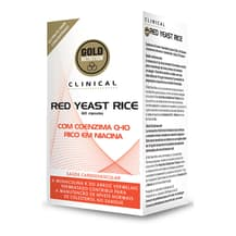 Cápsulas Gold Nutrition Red Yeast Rice Clinical (60 unidades)