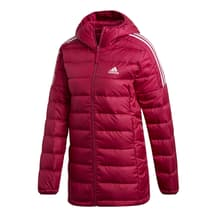 adidas Essentials Down Parka Jacket Red White Women
