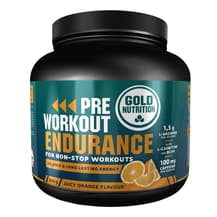 Pre-Workout Endurance Gold Nutrition gusto arancia 300 gr