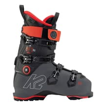 K2 BFC 100 Gripwalk Ski Boots Black Greyish Red