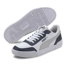 Puma Caracal Shoes Grey Blue White Kids